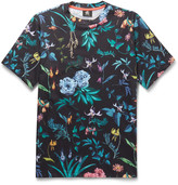 Ps By Paul Smith - Floral-print Cotton-jersey T-shirt