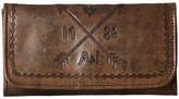 American West Cross My Heart Trifold Wallet