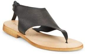 Cocobelle Tye Leather Thong Sandals