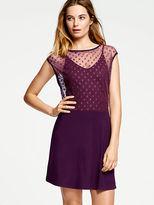 Victoria's Secret Dot-mesh Minidress