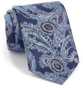 Ermenegildo Zegna Paisley Woven Silk Tie