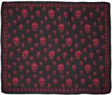 Alexander McQueen Skull Silk Scarf