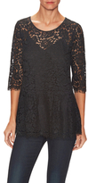 Belgium Lace Scalloped Top