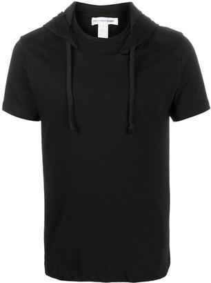 Comme des Garçons Shirt hooded slim-fit T-shirt