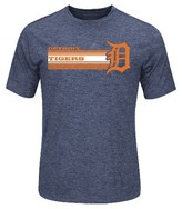 Detroit Tigers Men's Charcoal Heather Synthetic T-Shirt
