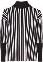 Tanya Taylor Timmy stretch jacquard-knit sweater