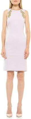 Alexia Admor Chloe Embellished Sleeveless Sheath Dress