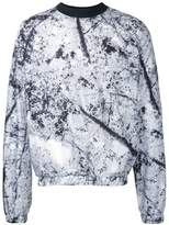 MSGM printed crew neck top