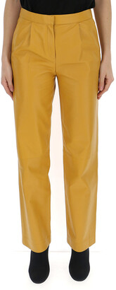 Theory High Waisted Straight-Leg Trousers