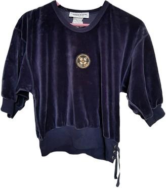 Sonia Rykiel Navy Cotton Knitwear for Women