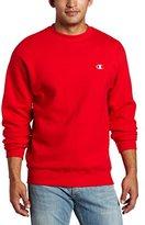 Champion Men's Pullover Eco Fleece Sweatshirt, Black, X-Large