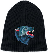 Gucci knitted Wolf hat