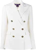 Ralph Lauren double breasted fitted blazer