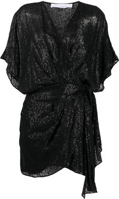 IRO Sequin Leopard Print Dress