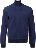 Bikkembergs perforated jacket - men - Goat Skin/Polyamide/Polyester/Viscose - 48