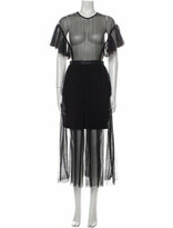 Thumbnail for your product : Three floor Crew Neck Long Dress Black