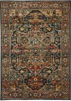 "Karastan Spice Market Alacantara Sapphire 3'5"" x 5'5"" Area Rug"