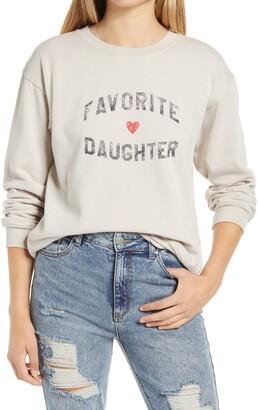 Sub Urban Riot Favorite Daughter Graphic Sweatshirt