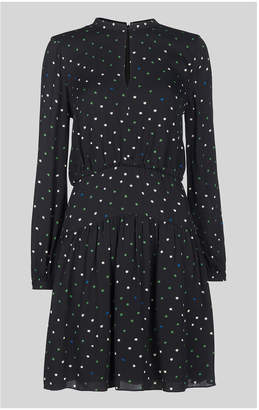 Whistles Millie Star Print Dress