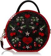 Irregular Choice Womens Cherry Love Bag Top-Handle Bag