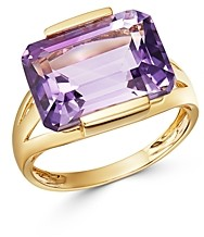 Bloomingdale's Amethyst East-West Ring in 14K Yellow Gold - 100% Exclusive