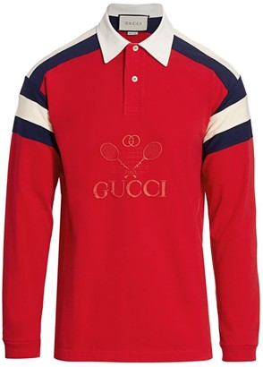 Gucci Tennis Oversize Polo