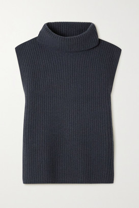 Arch4 Ribbed Cashmere Turtleneck Sweater - Anthracite