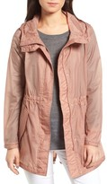 Andrew Marc Women's Teri Translucent Rain Jacket