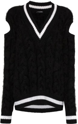 Balmain chunky cable-knit sweater