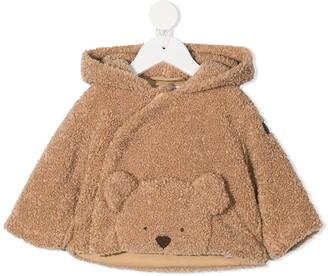 Il Gufo Teddy Bear Hooded Jacket