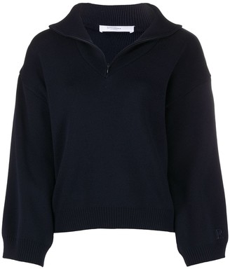 Roseanna Half-Zip Knit Jumper