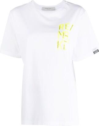 Golden Goose Remake-print T-shirt
