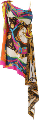 Versace Multi Print Dress