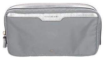 Anya Hindmarch Canvas Cosmetic Pouch