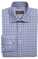 Robert Talbott Men's Trim Fit Check Dress Shirt