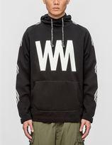 "White Mountaineering WM"" Printed Fleece Lining Hoodie"