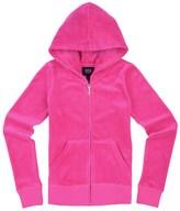 Juicy Couture Girls Logo Jc Laurel Gem Velour Original Jacket