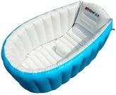 SHENGXIA Toddler Inflatable Baby Bathtub Infant Travel Folding Non-slip Bathing Tub