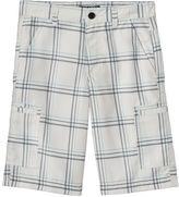 Boys 8-20 Tony Hawk® Plaid Microfiber Cargo Shorts