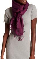 Saachi Magenta Luxurious Cashmere Blend Wrap