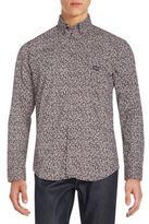 Diesel Judyk Floral-Print Cotton Sportshirt