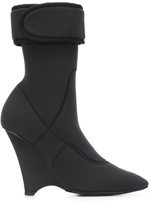 Yeezy wedge Scuba 125 ankle boots