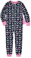 Asstd National Brand DC Super Heroes Super Girls Footless Pajamas with Cape