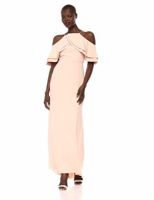Eliza J Women's Off The Shoulder Ruffled Gown