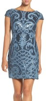 Adrianna Papell Women's Sequin Lace Sheath Dress