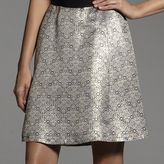 Narciso Rodriguez for designation jacquard a-line skirt