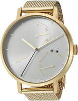 Nixon Women's 'Clutch' Quartz Stainless Steel Casual Watch, Color:Gold-Toned (Model: A1166504-00)