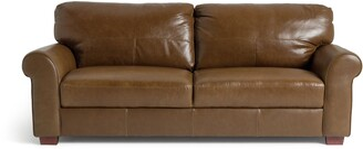 Argos Home Salisbury 4 Seater Leather Sofa