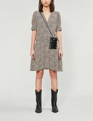 Zadig & Voltaire Russel leopard-print crepe midi dress