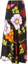 Marni floral print skirt - women - Viscose - 44